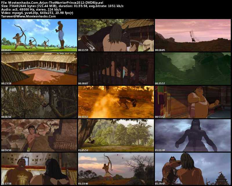 دانلود انیمیشن هندی Arjun: The Warrior Prince 2012