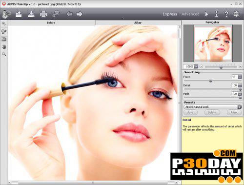 نرم افزار آرایش صورت AKVIS MakeUp 1.0.165.8001 برای فتوشاپ