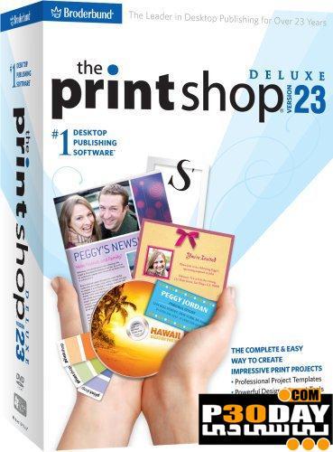 دانلود مجموعه عظیم قالب های حرفه ای از پیش طراحی شده Broderbund Print Shop Deluxe v23.1