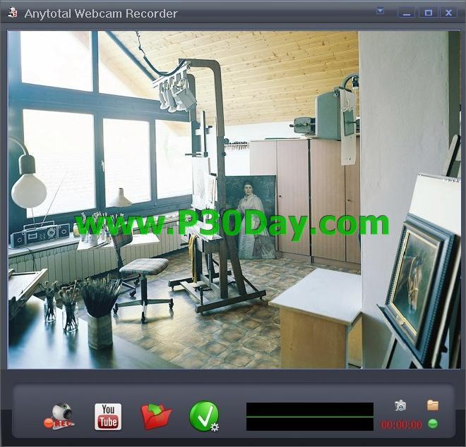 دانلود برنامه ضبط تصاویر از وبکم Anytotal Webcam Recorder 5.1.18.0507