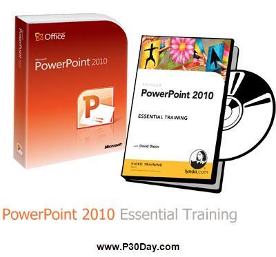 دانلود آموزش تصویری پاورپوینت 2010 – PowerPoint 2010 Essential Training