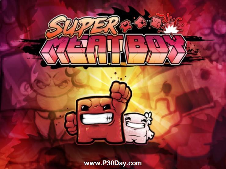 دانلود بازی بسیار زیبای Super Meat Boy 2010