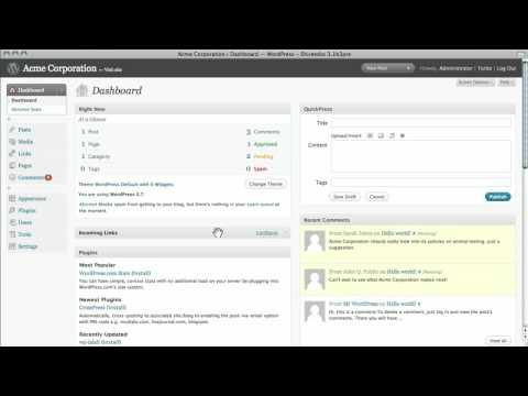 دانلود ویدیو آموزشی یادگیری تمامی نکات مورد نیاز برای کار کردن با وردپرس