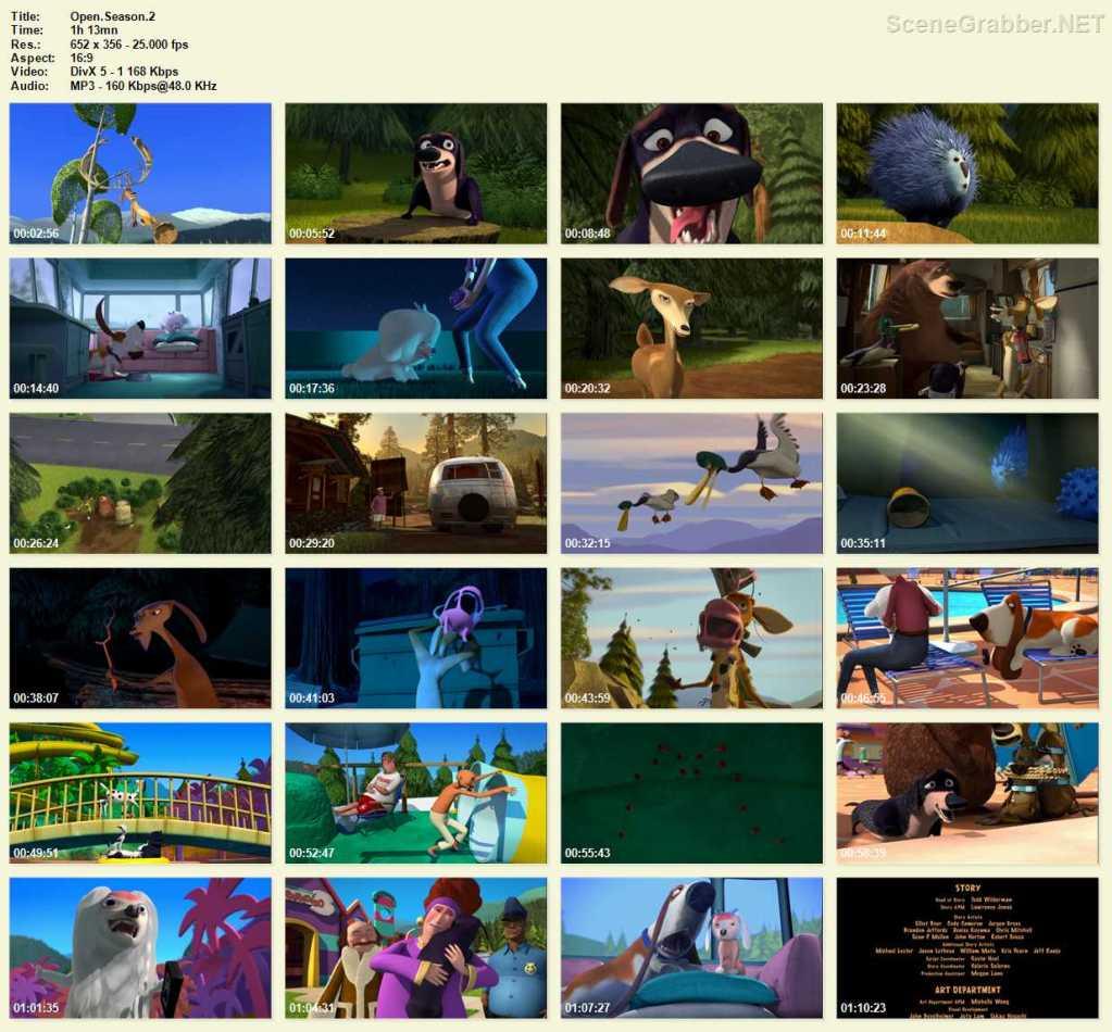 دانلود انیمیشن فصل شکار Open Season 2 2008