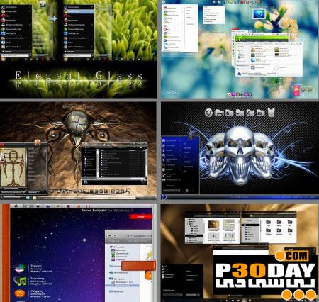 دانلود مجموعه 15 تم فوق العاده زیبا و جدید برای ویندوز 7