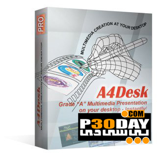 نرم افزار ساخت سایت فلش A4DeskPro Flash Website Builder 5.87