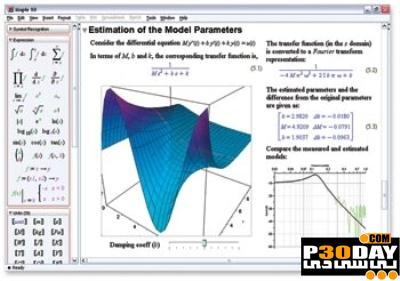 نرم افزار محاسباتی حل معادلات دیفرانسیل Maple 15.01