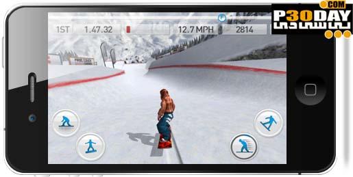 دانلود بازی فوق العاده جذاب اسکی Fresh Tracks Snowboarding v1.0 آیفون