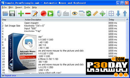 Automatic Mouse and Keyboard 5.2.8.6 - ابزار کلیک اتوماتیک