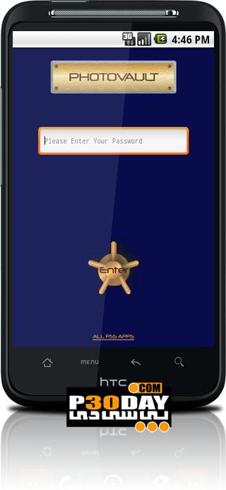 نرم افزار مخفی کردن عکس ها در گوشی PhotoVault 3.1.8 آندروید