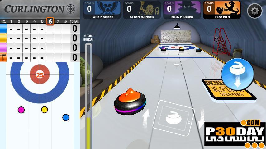 بازی آندروید Curlington HD v1.0
