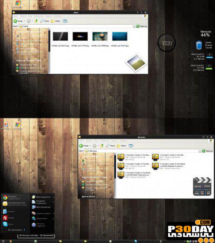تم شیک و بسیار زیبای Anny v2 Theme برای ویندوز XP