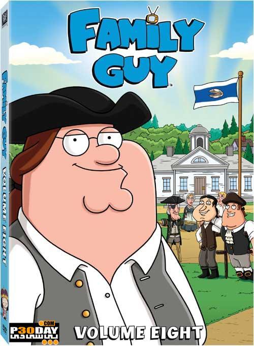 دانلود انیمیشن Family Guy – مرد خانواده – فصل هشتم بصورت کامل ( 21 قسمت
