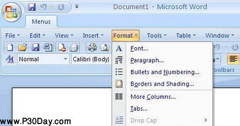 منوی کلاسیک برای آفیس 2007 - Classic Menu for Office 2007 v6.0