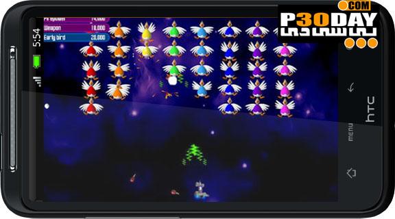 دانلود بازی معروف مرغ های مهاجم Chicken Invaders 2 آندروید