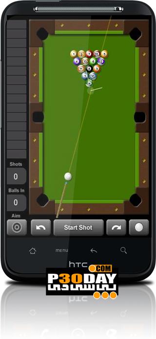 دانلود بازی بسیار جذاب بیلیارد Touch Pool 2D v3.1.3 آندروید
