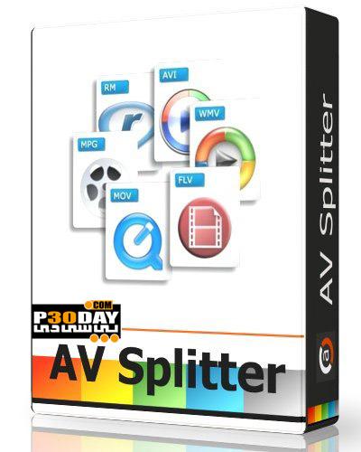 دانلود نرم افزار برش فایل های ویدیویی AV Splitter 1.1.8.12