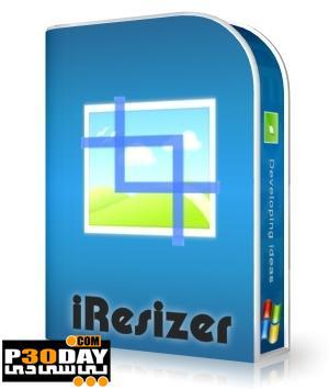 برنامه تغییر انداره قسمتی از عکس Teorex iResizer 1.1