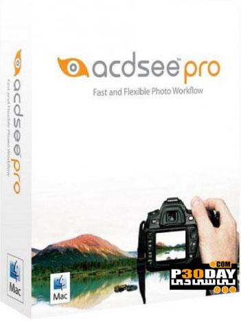 نرم افزار مدیریت و ویرایش تصاویر ACDSee Pro 1.9.475 سیستم عامل MacOSX