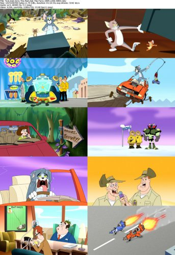 دانلود انیمیشن Tom and Jerry: The Fast and the Furry 2005