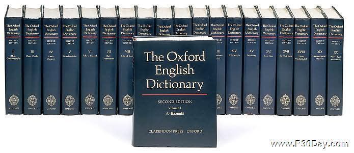 دانلود نسخه کامل فرهنگ لغت آکسفورد Oxford English Dictionary v4.0.0.3