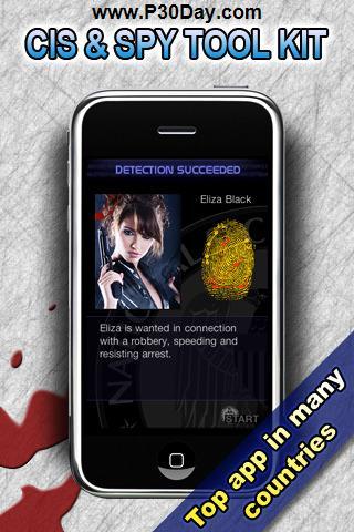 نرم افزار امنیتی و ضد جاسوسی آیفون CIS Fingerprint & Spy Detector 4.0
