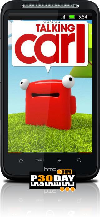 بازی کارل سخنگو موبایل آندروید Talking Carl v1.0
