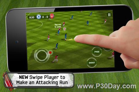 دانلود بازی Fifa 11 برای گوشی آیفون Fifa 11 iPhone iPod
