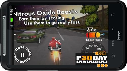 دانلود بازی موتورسواری در بزرگراه Highway Rider v1.1.3 مخصوص آندروید