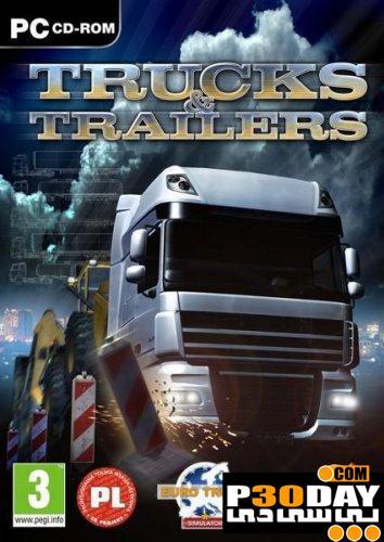 دانلود بازی جدید شبیه سازی تریلر و کامیون Trucks and Trailers 2011