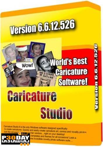 برنامه تبدیل عکس به کاریکاتور Caricature Studio v6.6.12.526 Portable