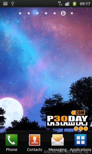 عکس پس زمینه ی خارق العاده لایو Nightfall Live Wallpaper آندروید