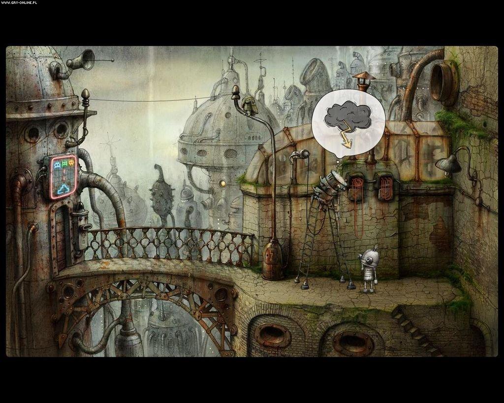 دانلود بازی حل معماهای شهر روبات ها Machinarium – SKIDROW