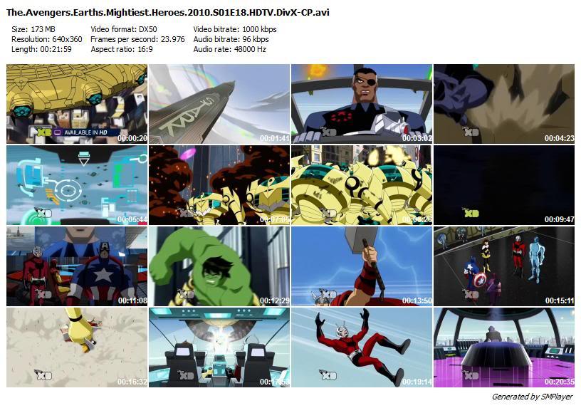 انیمیشن سریالی The Avengers: Earths Mightiest Heroes ( فصل اول کامل )