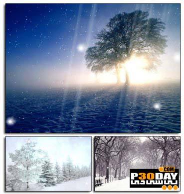 دانلود اسکرین سیور فوق العاده زیبای برفی Winter Snow Svreensaver