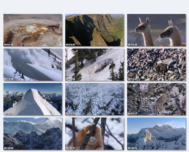 دانلود مستند سیاره زمین قسمت دوم : کوه ها