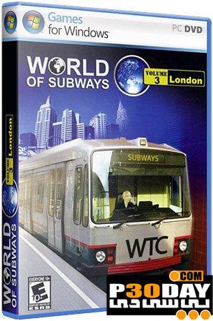 دانلود بازی شبیه سازی مترو World of Subways Vol 3 London Underground 2011