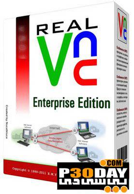 نرم افزار کنترل سیستم از راه دور RealVNC Enterprise Edition v5.0.2