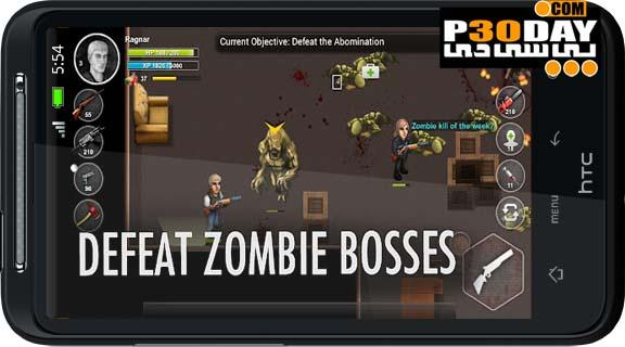 دانلود بازی ترسناک و جذاب Parallel Zombies v1.0.6 آندروید