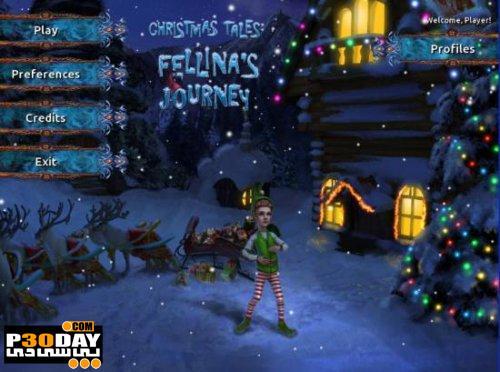 دانلود بازی اشیاء پنهان Christmas Tales: Fellina's Journey Final