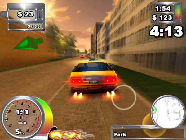 دانلود بازی Super Taxi Driver 2009