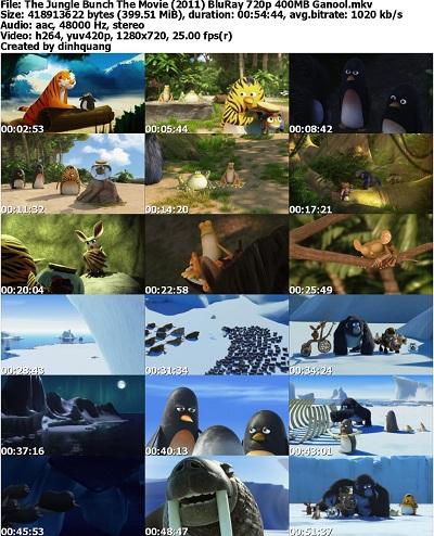 دانلود انیمیشن زیبای The Jungle Bunch The Movie 2011