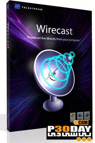 دانلود نرم افزار دنبال کردن رویدادهای زنده Wirecast Pro 4.1.4