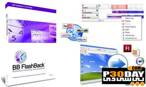 دانلود نرم افزار فیلم برداری از دسکتاپ BB FlashBack Pro 3.2.4.2216