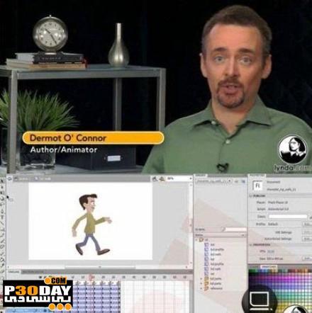 دانلود فیلم آموزشی ساخت شخصیت انیمیشنی در Flash Professional CS5