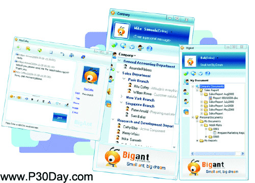 نرم افزار چت در شبکه های شخصی BigAnt Office Messenger 2.80