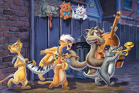 دانلود کارتون گربه های اشرافی  The Aristocats 1970 + زیرنویس فارسی
