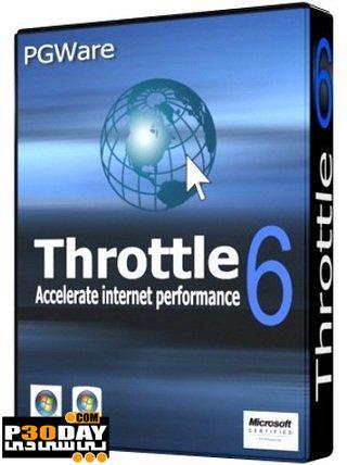 برنامه افزایش سرعت اینترنت Throttle 6.8.1.2011