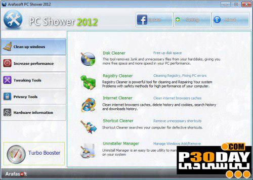 PC Shower Pro 2014 v1.6 - بهینه سازی کامپیوتر