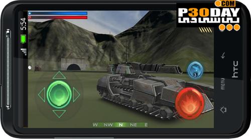 دانلود بازی نبرد تانک های آندروید Tank Recon 3D v2.10.1